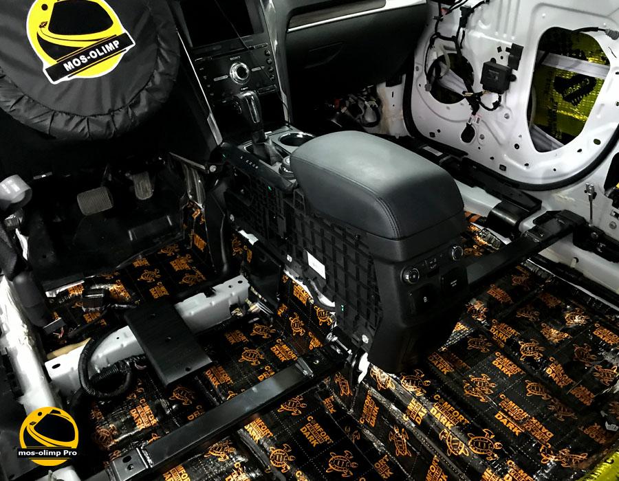 шумоизоляция ford explorer
