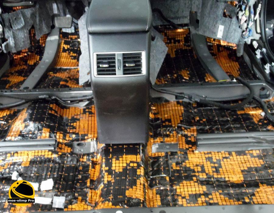 Шумоизоляция Lexus NX
