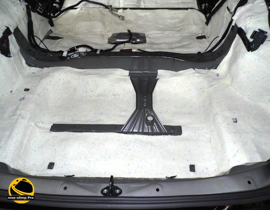 Шумоизоляция Lexus NX 200