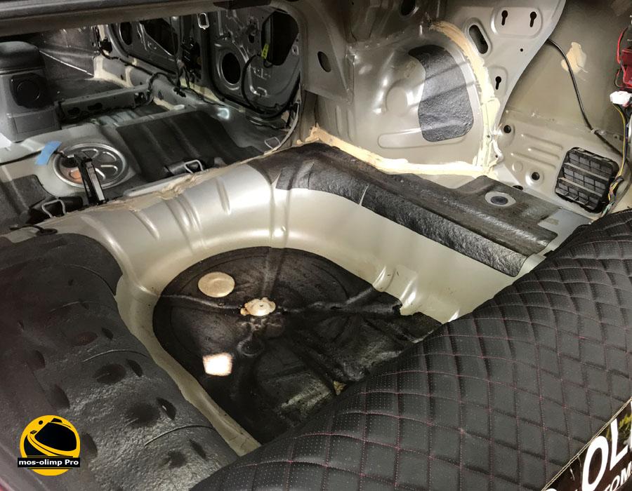 шумоизоляция багажника лачетти седан