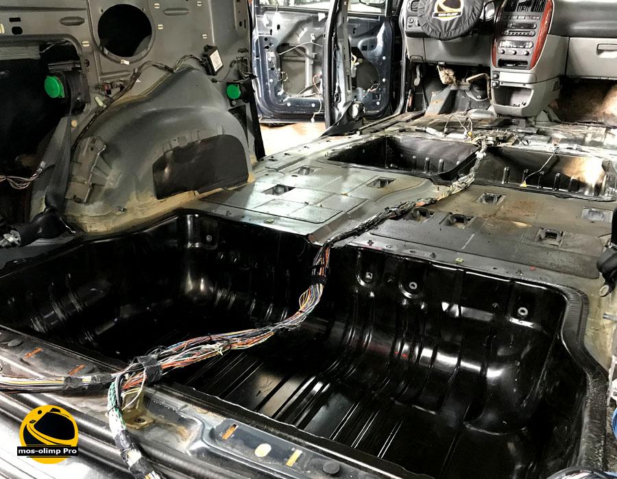 шумоизоляция багажника крайслер