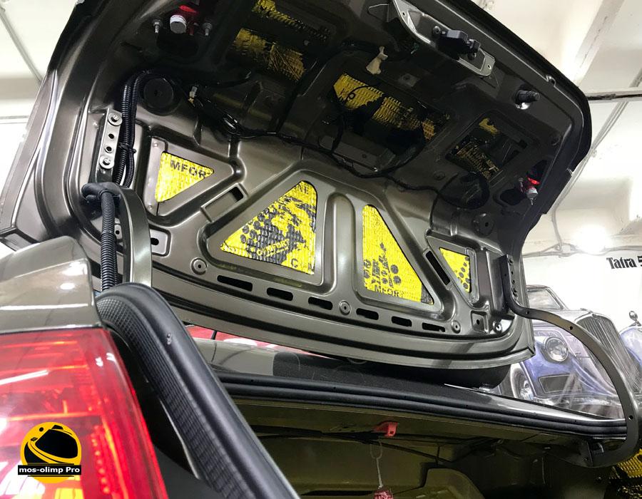 шумоизоляция багажника ситроен с4