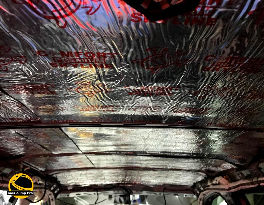 шумоизоляция крыши шкоды кодиак