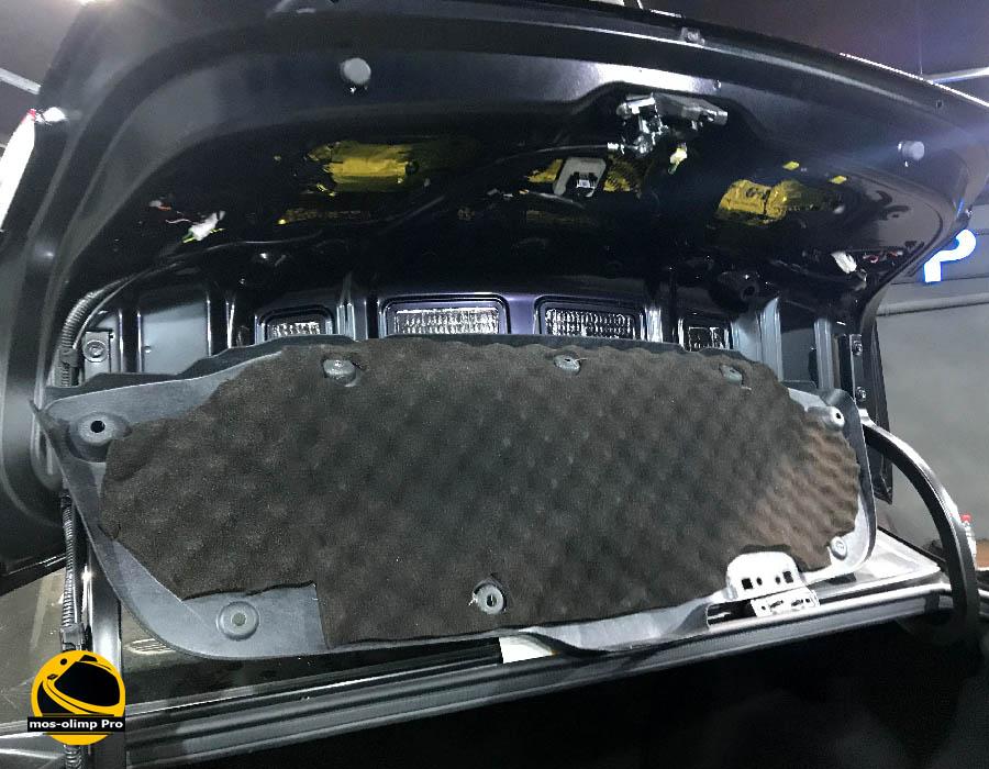 шумоизоляция крышки багажника киа рио 4