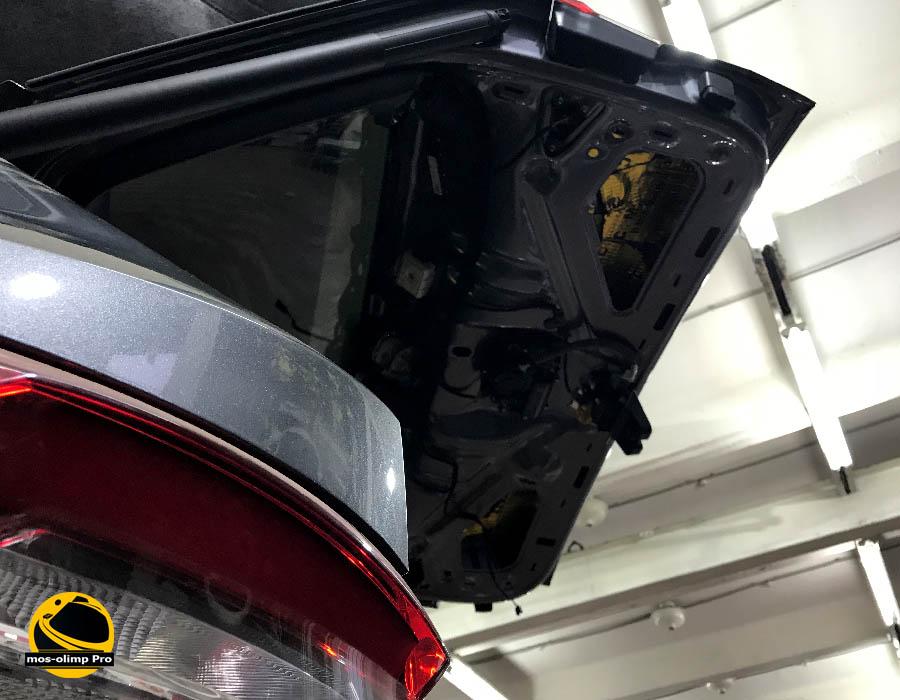 шумоизоляция крышки багажника шкода кодиак