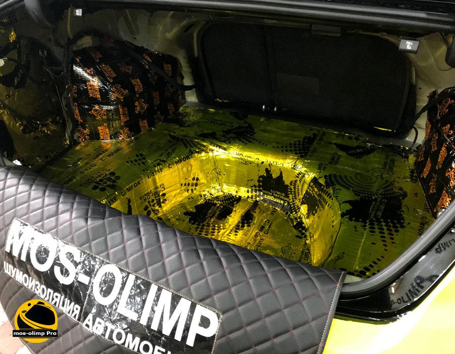 виброизоляция багажника хендай соната 5 тагаз