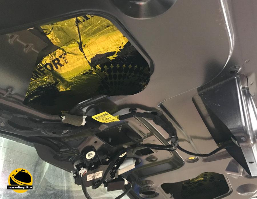 виброизоляция крышки багажника антара