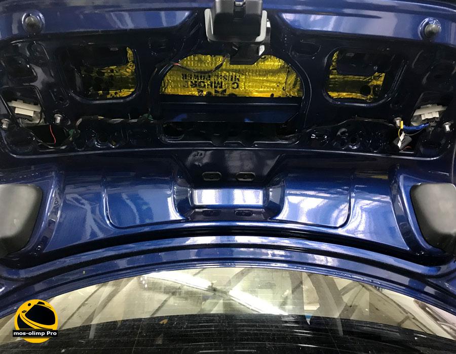 виброизоляция крышки багажника джетта