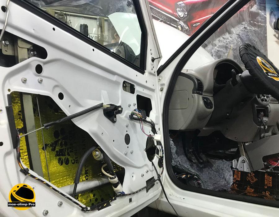 шумоизоляция автомобиля лада калина
