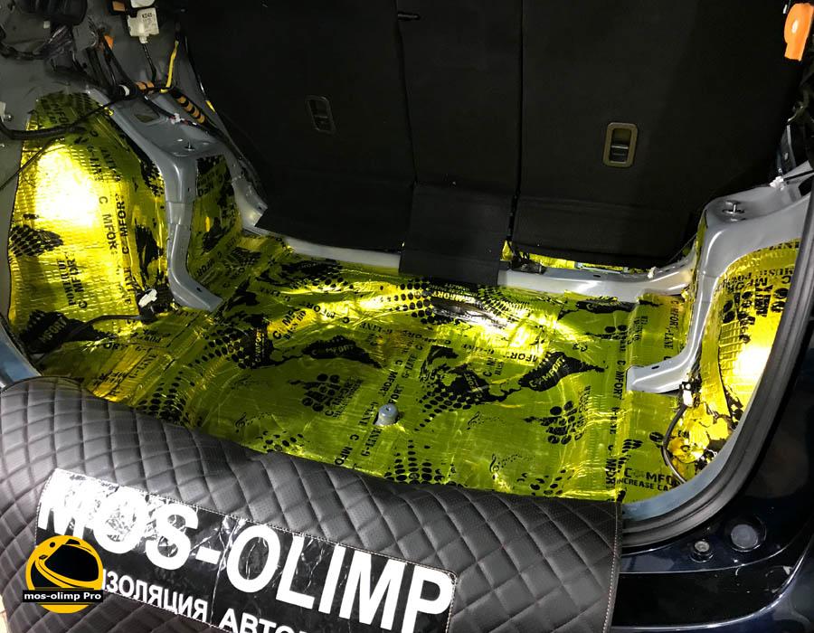 шумоизоляция багажника мазда сх5