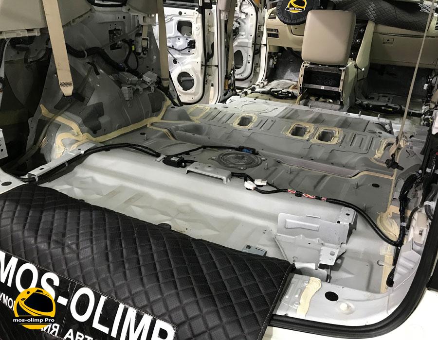 шумоизоляция багажника патрол