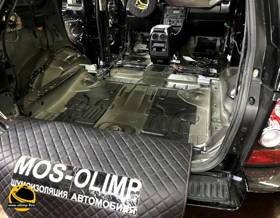 шумоизоляция багажника рендж ровер