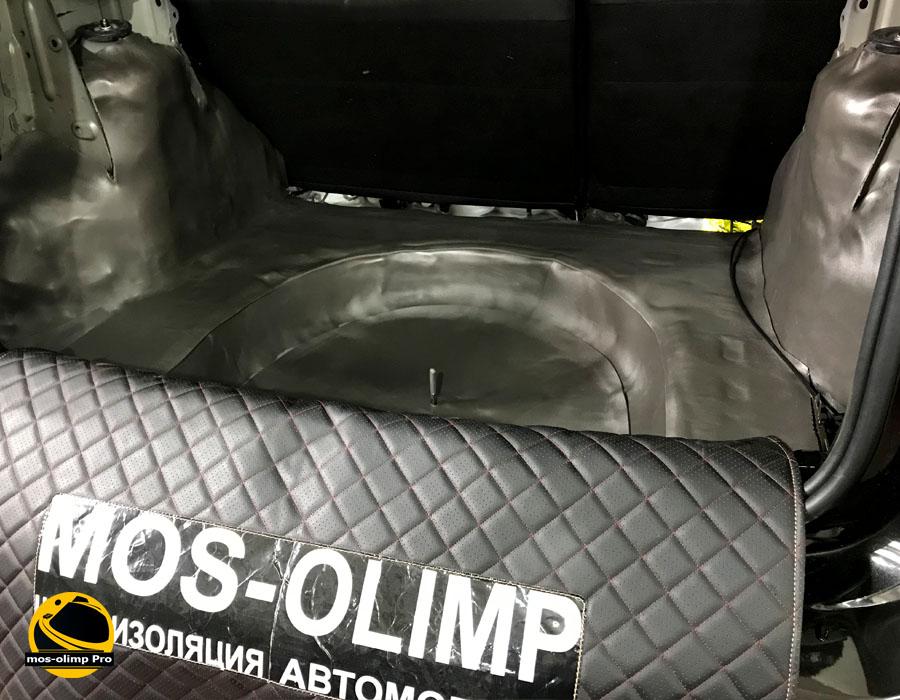 шумоизоляция багажника террано