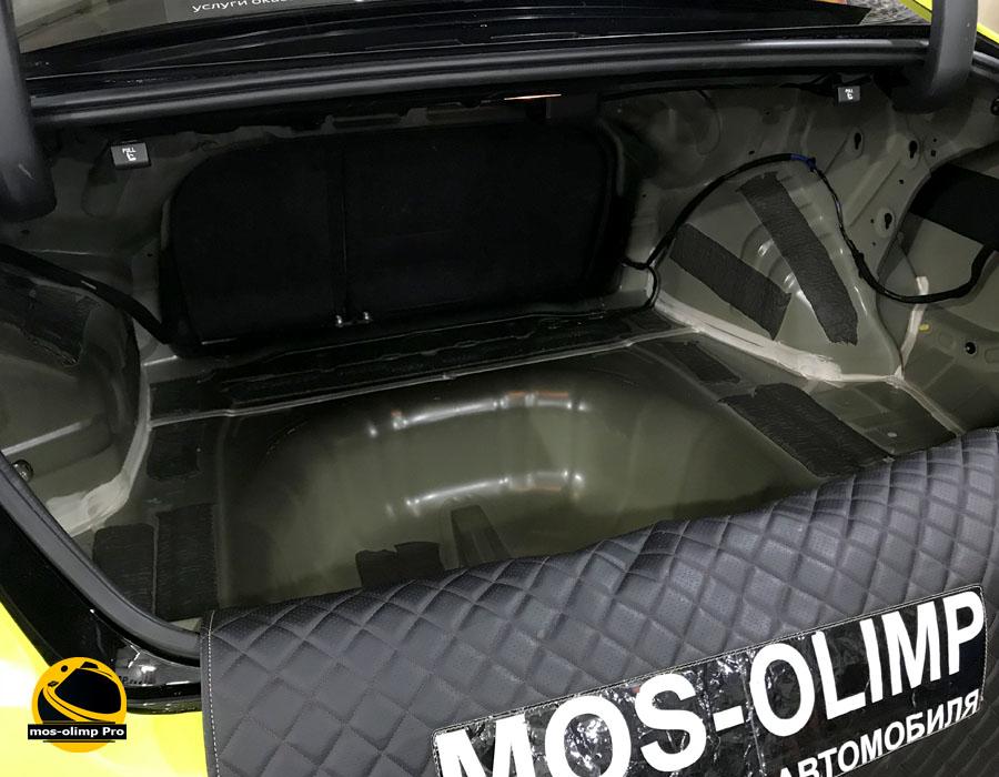 шумоизоляция багажника хендай соната 5 тагаз