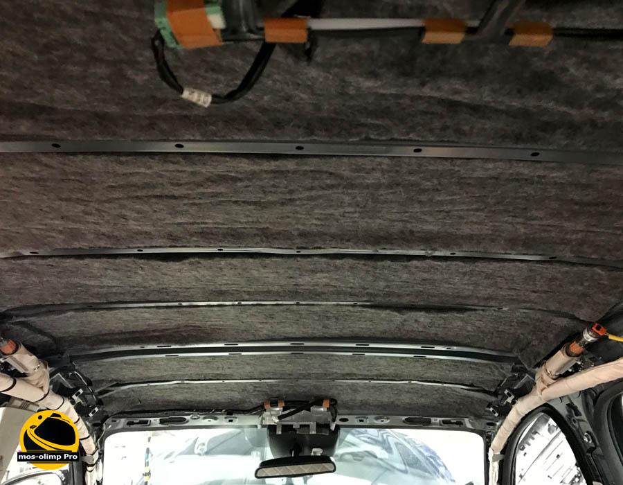 шумоизоляция крыши мазда сх5