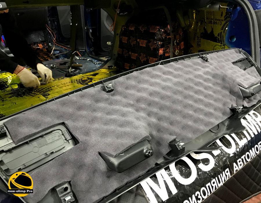 шумоизоляция крышки багажника джетта