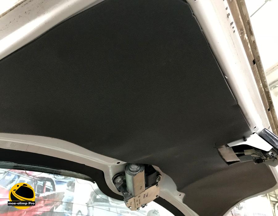 шумоизоляция крышки багажника калины