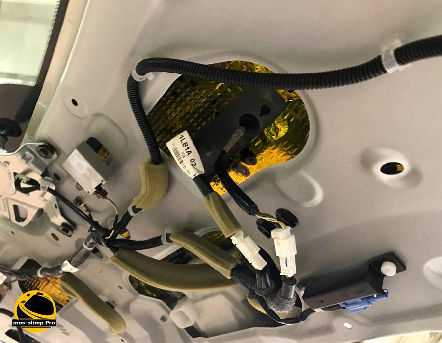 шумоизоляция крышки багажника патрол