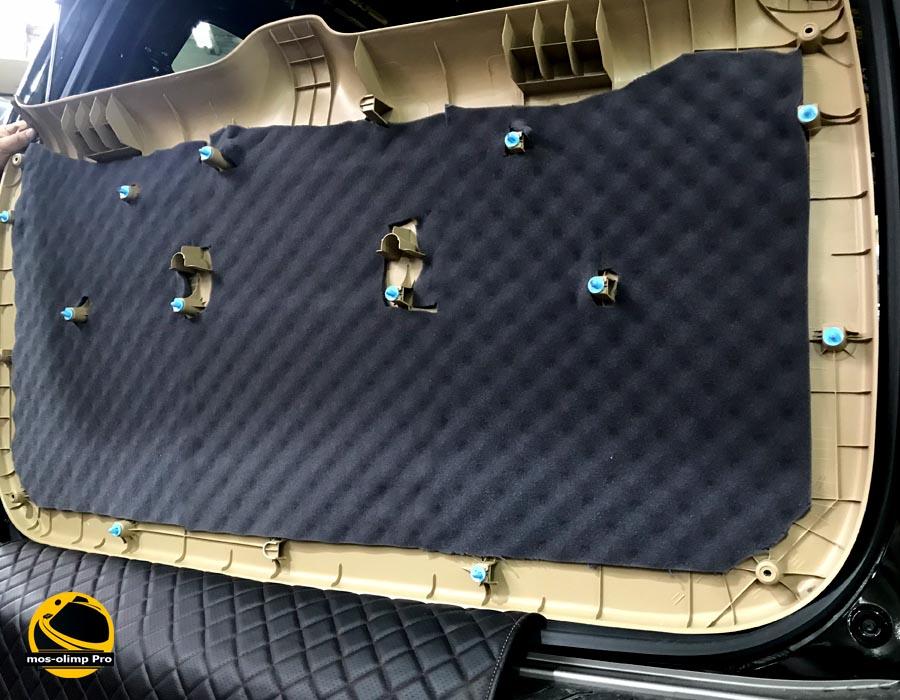 шумоизоляция крышки багажника старекса