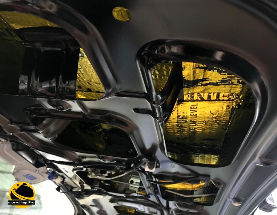шумоизоляция крышки багажника старекс