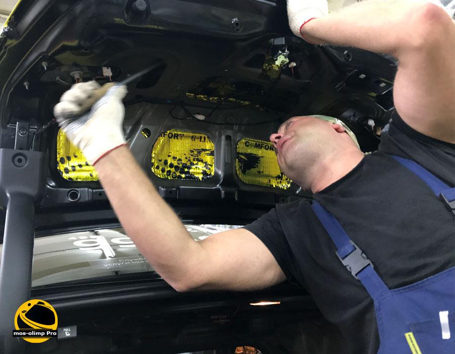 шумоизоляция крышки багажника хендай соната тагаз