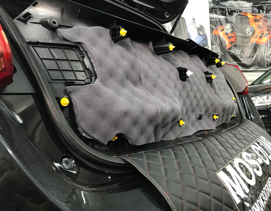 шумоизоляция крышки багажника сид