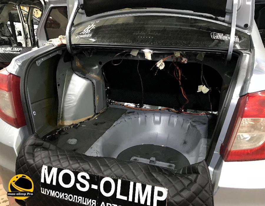 шумоизоляция багажника датсун он до