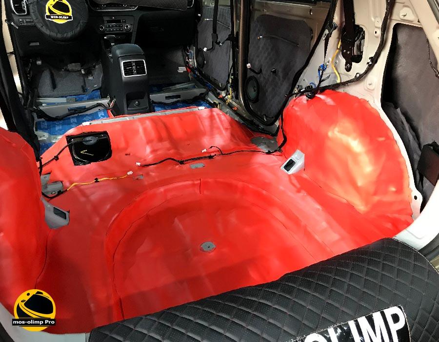 шумоизоляция багажника киа спортейдж 4