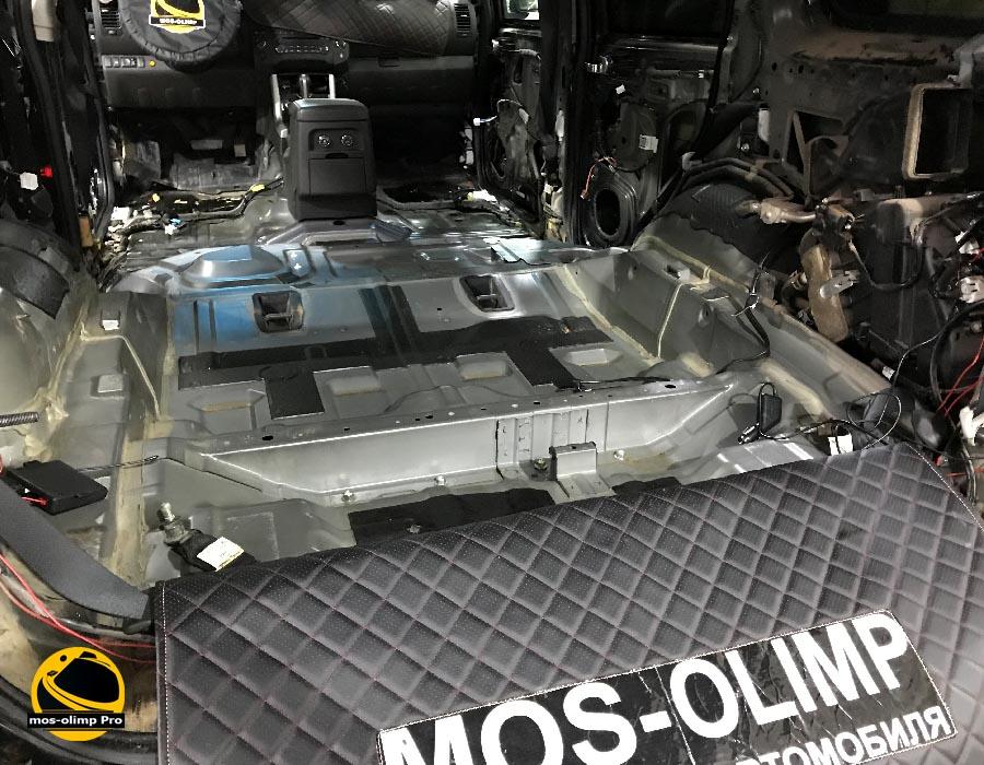 шумоизоляция багажника патфайндер