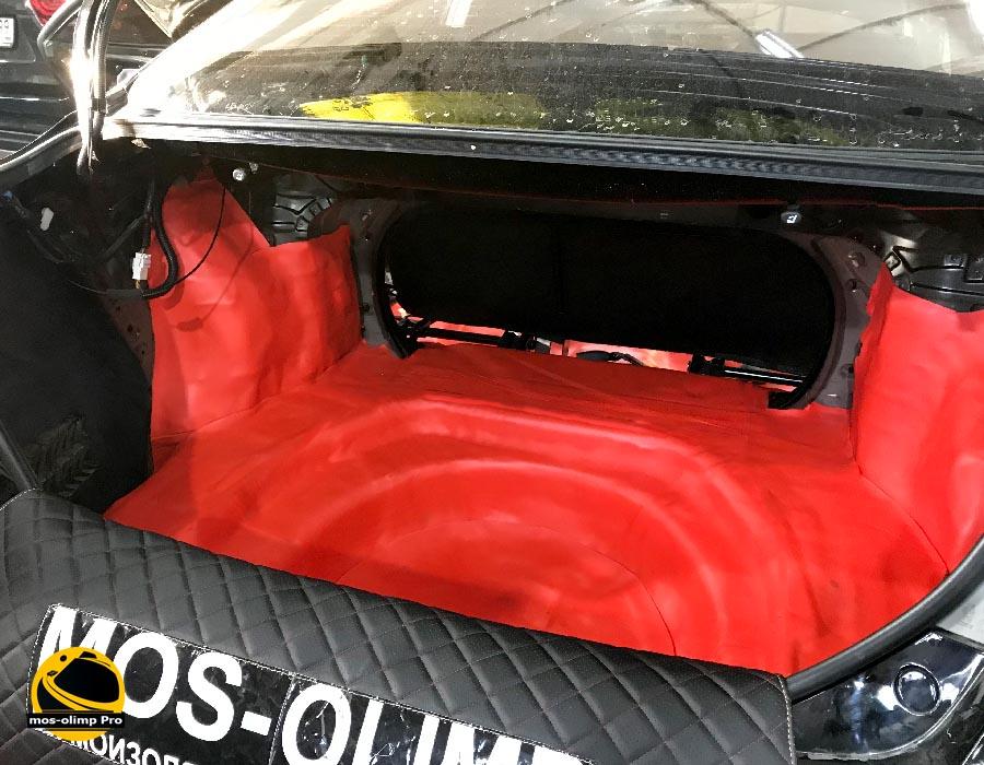 шумоизоляция багажника тойота камри 40