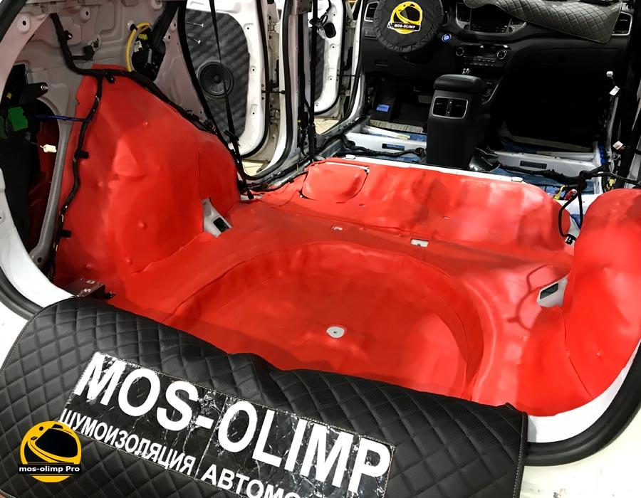 шумоизоляция багажника хендай туксон