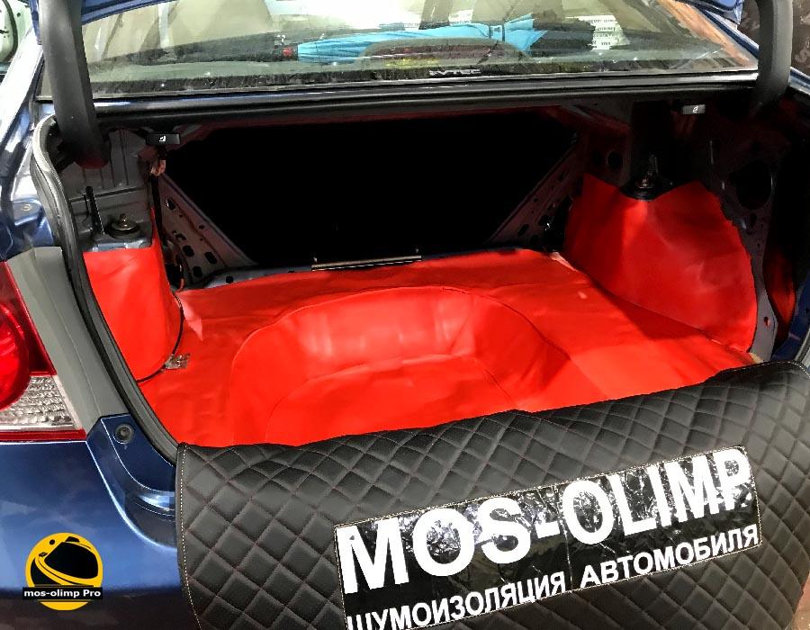 шумоизоляция багажника хонды цивик