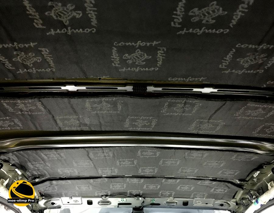 шумоизоляция крыши поло седан