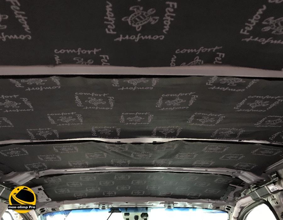 шумоизоляция крыши спортейдж 4