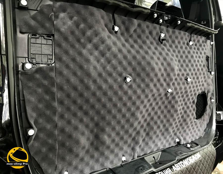 шумоизоляция крышки багажника альфард
