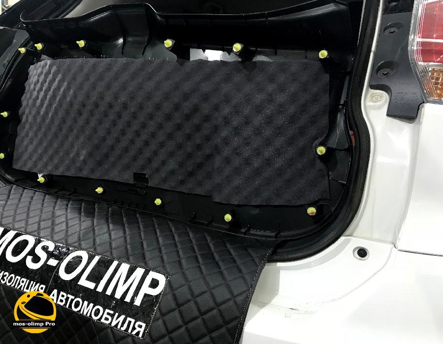 шумоизоляция крышки багажника ниссан икстрейл t32