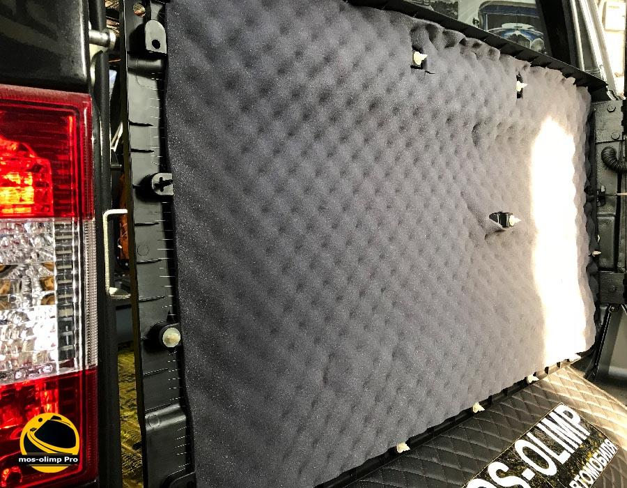 шумоизоляция крышки багажника патриота