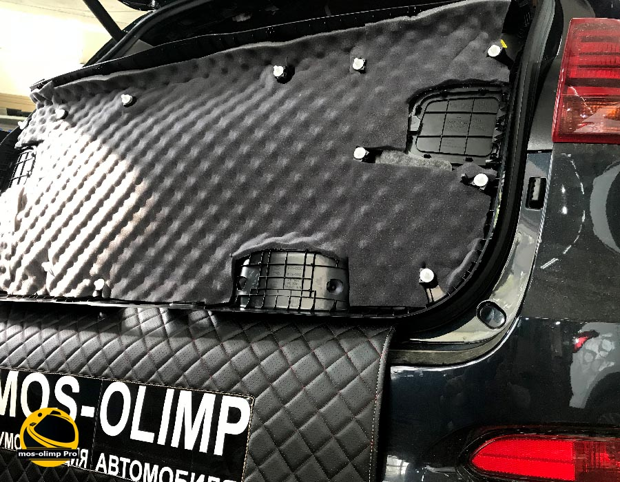 шумоизоляция крышки багажника соренто прайм
