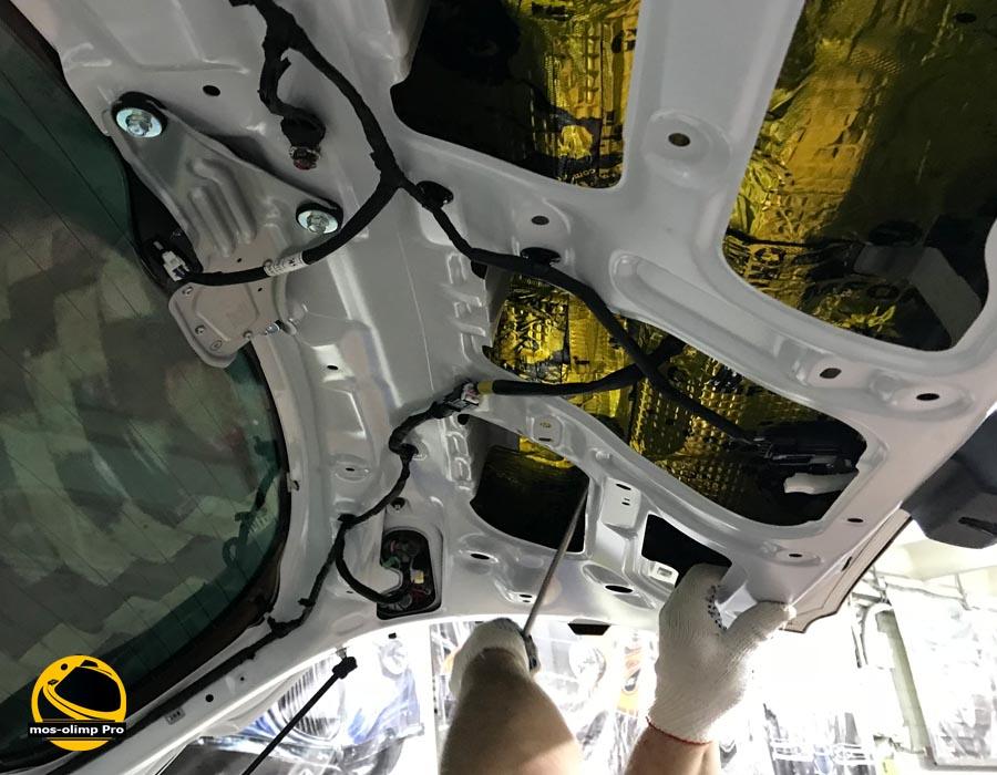 шумоизоляция крышки багажника туксон