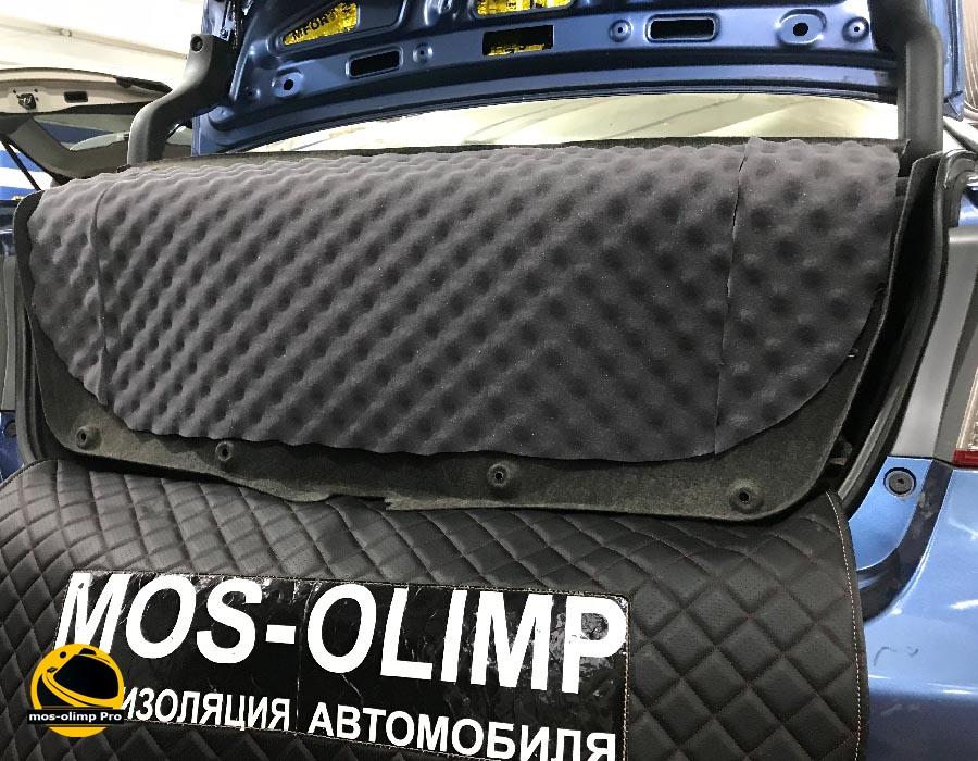 шумоизоляция крышки багажника honda civic