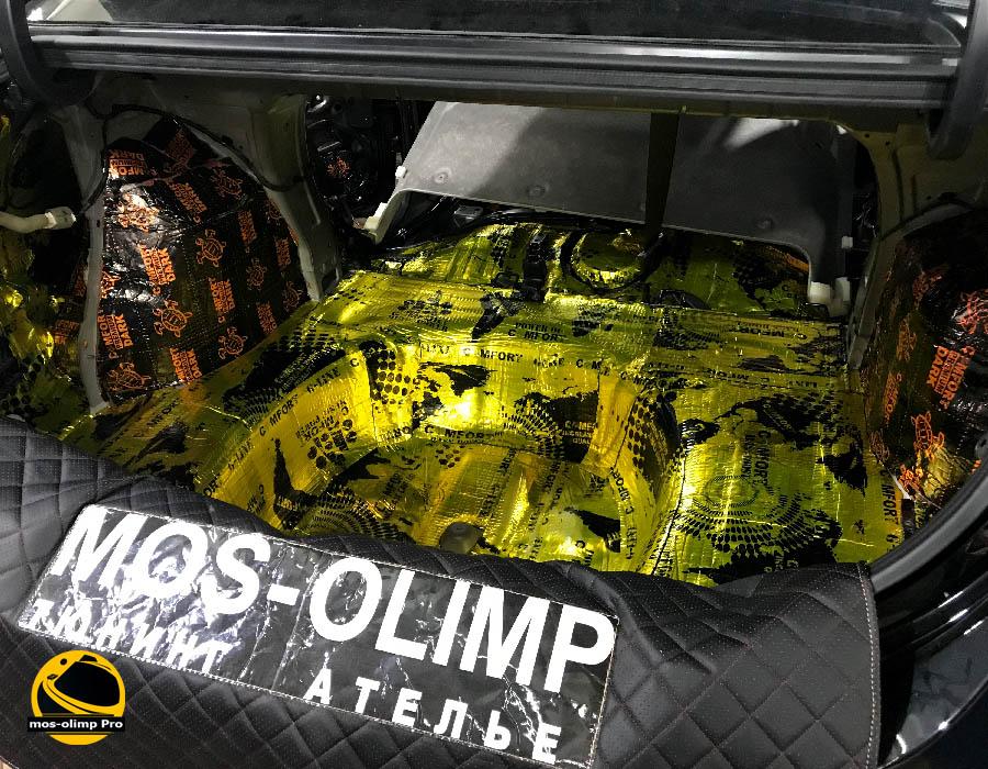 виброизоляция багажника солярис