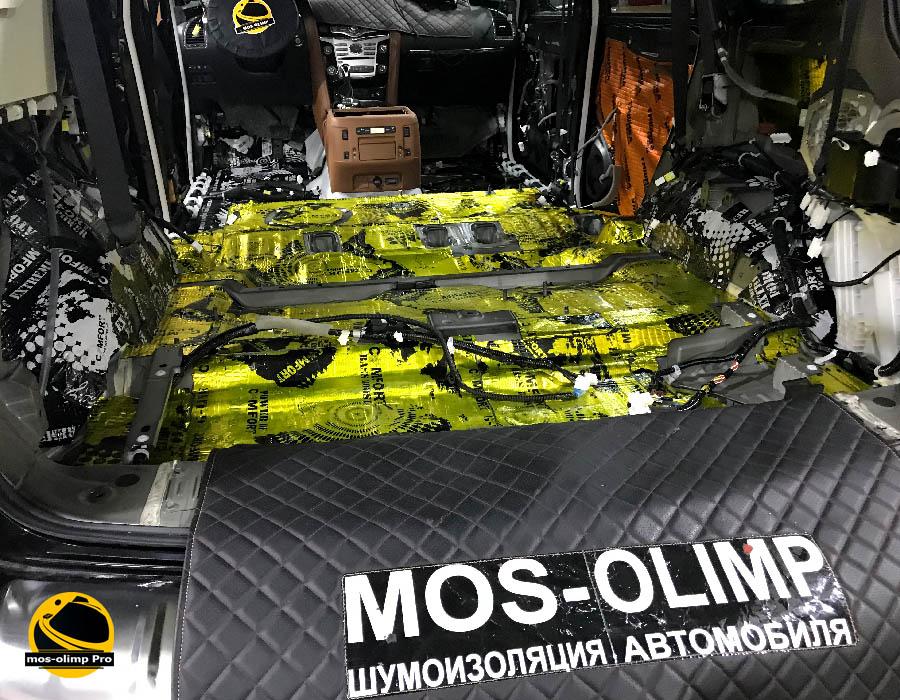 виброизоляция багажника qx80
