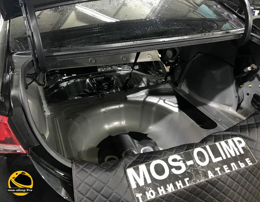 шумоизоляция багажника солярис