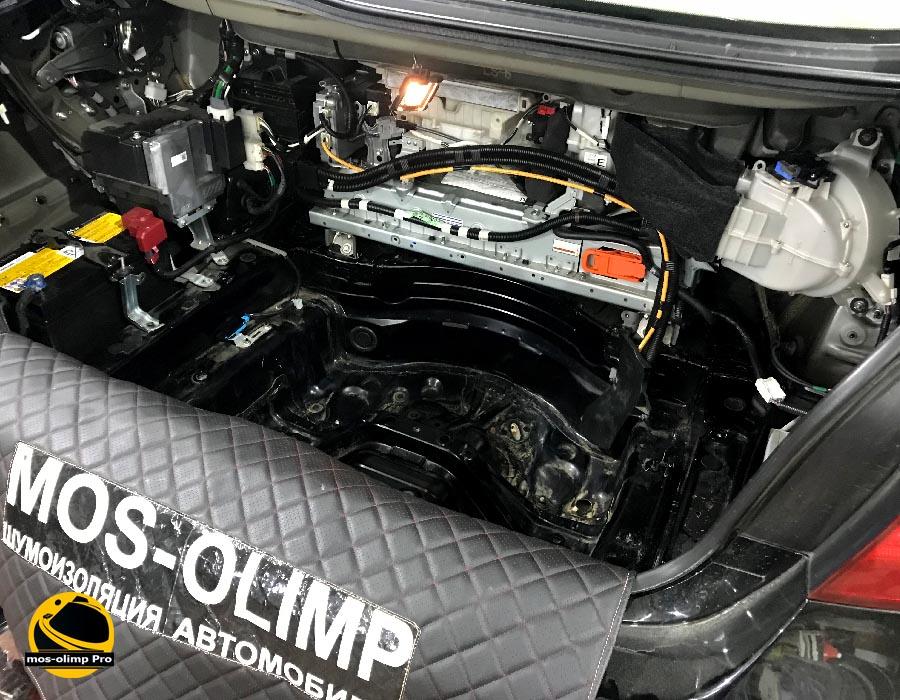 шумоизоляция багажника ls