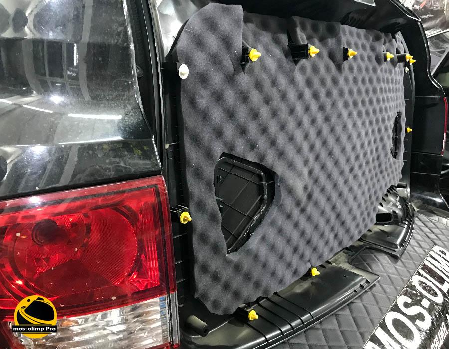 шумоизоляция крышки багажника кайрон