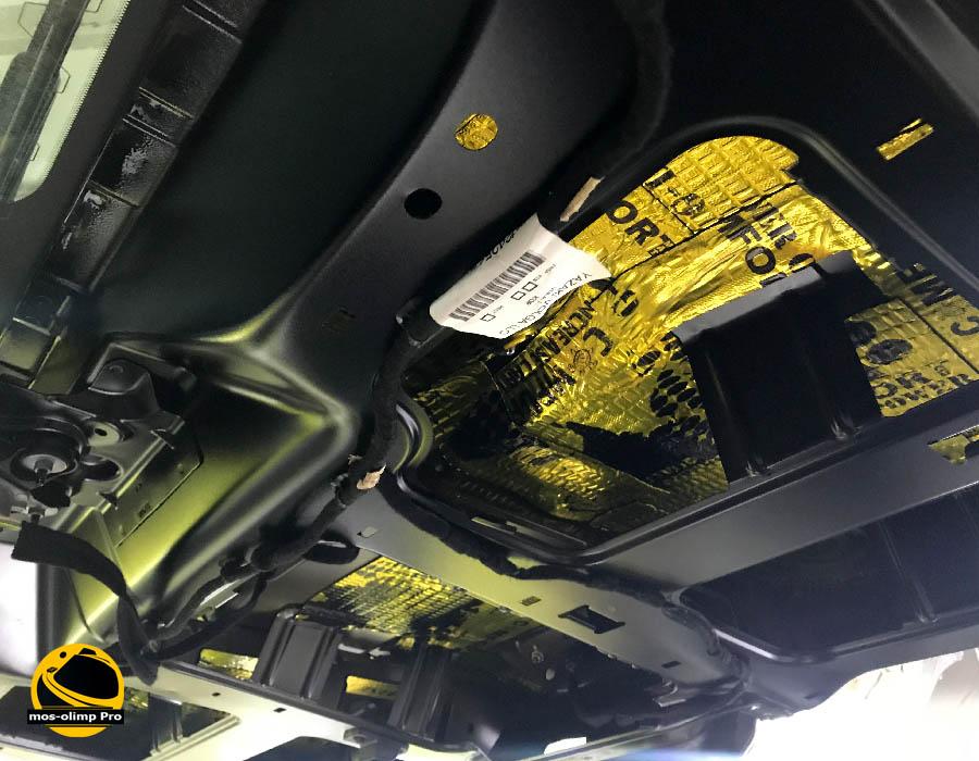 шумоизоляция крышки багажника травелер
