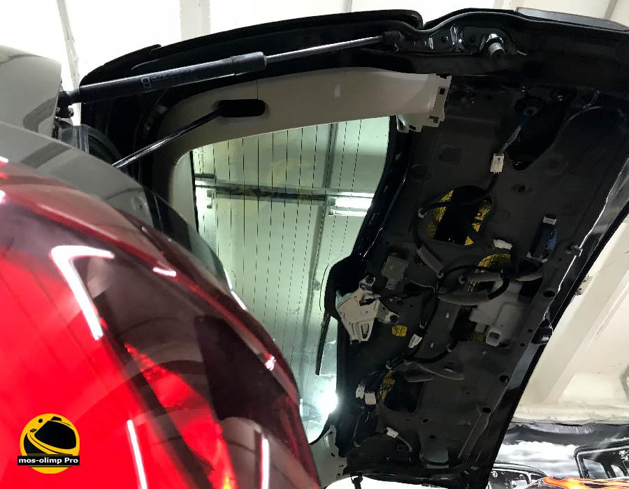 шумоизоляция крышки багажника qx80