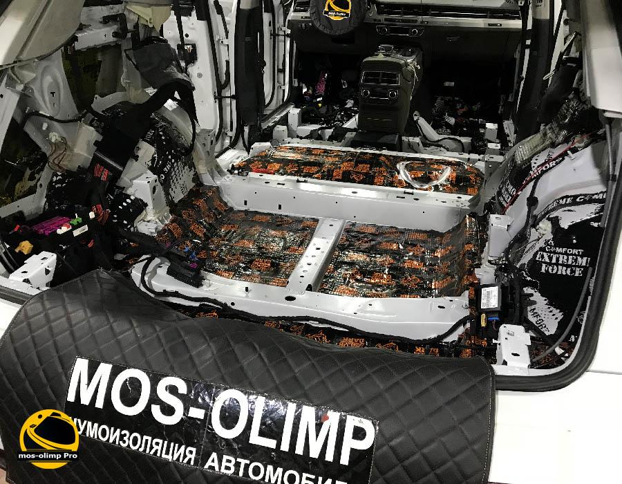 виброизоляция багажника ауди q7