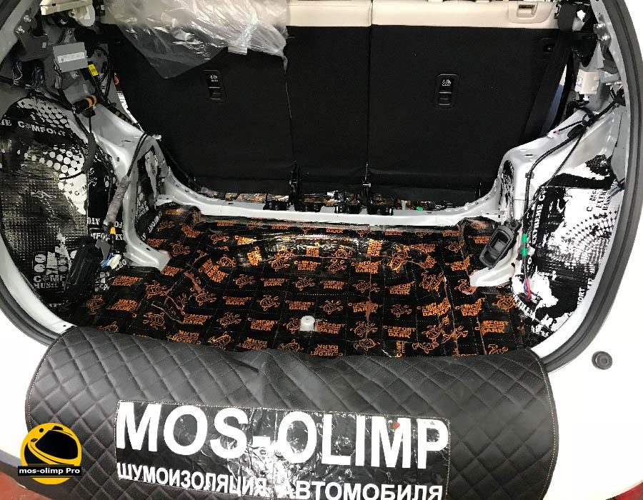 виброизоляция багажника сх 5
