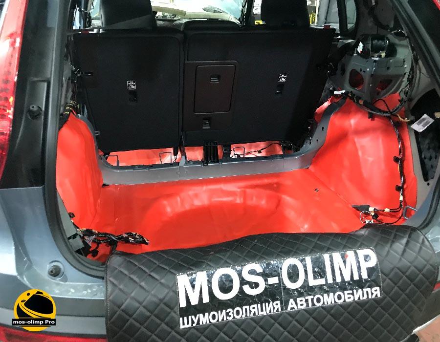шумоизоляция багажника вольво хс 40